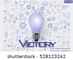 icon lamp business  success ... | Shutterstock .eps vector #528123262