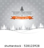 merry christmas and happy new... | Shutterstock .eps vector #528123928