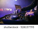 moscow 3 november 2016 party dj ... | Shutterstock . vector #528157795