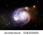 stars  dust and gas nebula in a ...   Shutterstock . vector #528203005