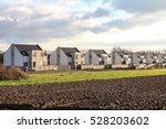 picturesque newly built houses  ... | Shutterstock . vector #528203602