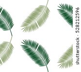 palm leaf seamless pattern... | Shutterstock .eps vector #528212596