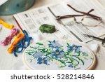 Cross Stitch Set   Hoop With...