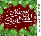 christmas vector background... | Shutterstock .eps vector #528217942
