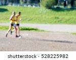 couple of senior marathon...   Shutterstock . vector #528225982
