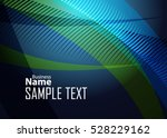 blue abstract template for card ... | Shutterstock .eps vector #528229162