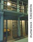 interior of prison cell | Shutterstock . vector #528238456