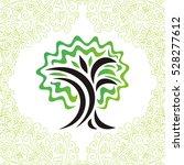 tree. vector illustration. | Shutterstock .eps vector #528277612