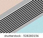 oblique  diagonal lines pattern. | Shutterstock .eps vector #528283156