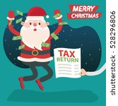 santa claus concept design...   Shutterstock .eps vector #528296806