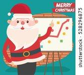 santa claus concept design... | Shutterstock .eps vector #528296875