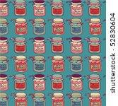 jam seamless pattern | Shutterstock .eps vector #52830604