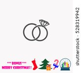 Wedding Rings  Vector...