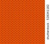 knitted orange background... | Shutterstock .eps vector #528341182