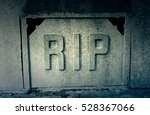 Sign Rip In A Tomb  Detail Of ...