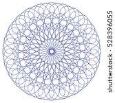 blue monochrome  circular...   Shutterstock .eps vector #528396055