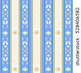 colorful ethnic indian pattern   Shutterstock .eps vector #528406582