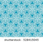 seamless texture of floral... | Shutterstock .eps vector #528415045