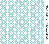 seamless monochrome square... | Shutterstock .eps vector #528419902