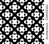 vector seamless pattern  black  ... | Shutterstock .eps vector #528420382