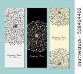 banners collection  floral... | Shutterstock .eps vector #528424402