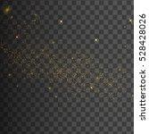 gold glittering star dust trail ...   Shutterstock .eps vector #528428026