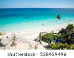 tulum beach   Shutterstock . vector #528429496