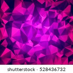 abstract polygonal background.... | Shutterstock .eps vector #528436732