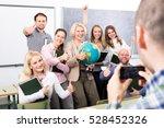 Professor Taking A Photograph...