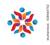 Abstract Happy People Logo...