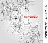 circuit board vector... | Shutterstock .eps vector #528475642
