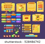 the elements of the game... | Shutterstock .eps vector #528486742