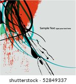 abstract background design | Shutterstock .eps vector #52849337