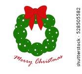 christmas typographic...   Shutterstock .eps vector #528505582