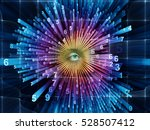 evolving world of numbers | Shutterstock . vector #528507412
