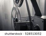 vintage film projector | Shutterstock . vector #528513052