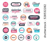 sale shopping stickers and... | Shutterstock . vector #528532282