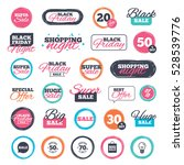 sale shopping stickers and... | Shutterstock . vector #528539776