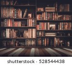 blurred image many old books on ... | Shutterstock . vector #528544438