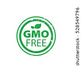 vector logo gmo free | Shutterstock .eps vector #528549796