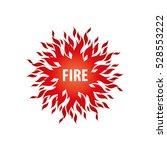 fire vector logo | Shutterstock .eps vector #528553222