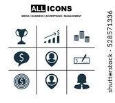 set of 9 hr icons. can be used...