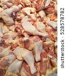 Small photo of Chicken thigh mounted a brisk in the market