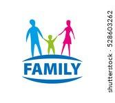vector logo family | Shutterstock .eps vector #528603262