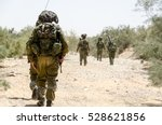 Israeli Army Combat Soldiers...