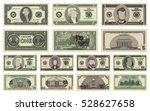 Vector Cartoon Dollar Banknote...