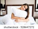 Happy Girl Hug Pillow Am Morning