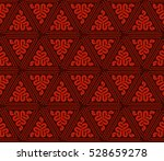 abstract seamless geometries... | Shutterstock .eps vector #528659278