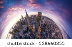 san francisco aerial view from... | Shutterstock . vector #528660355