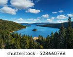 Lake Tahoe In Famous Californi...